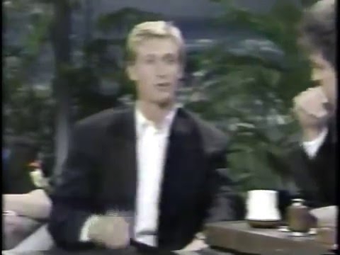 Wayne Gretzky on The Tonight Show with Jay Leno - 1988