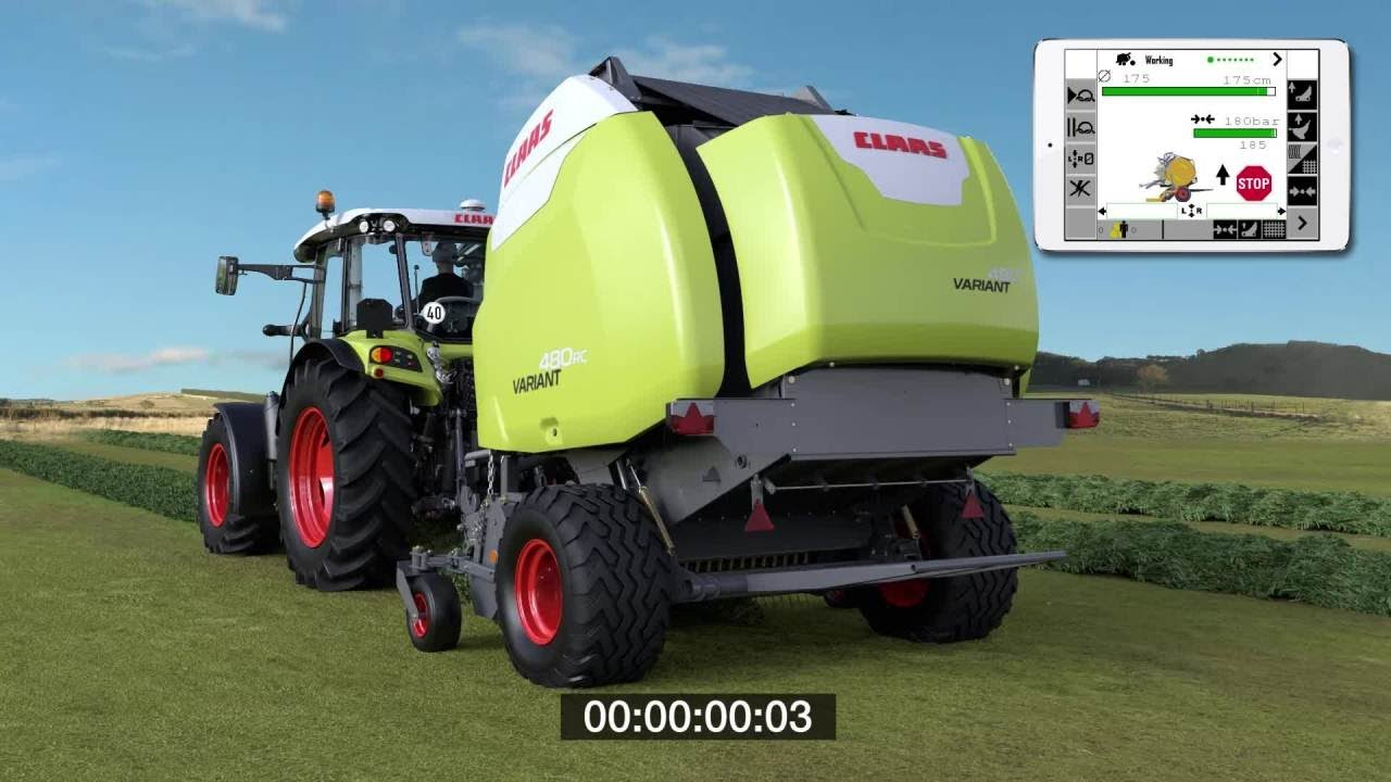 Round balers | Products | CLAAS of America | CLAAS