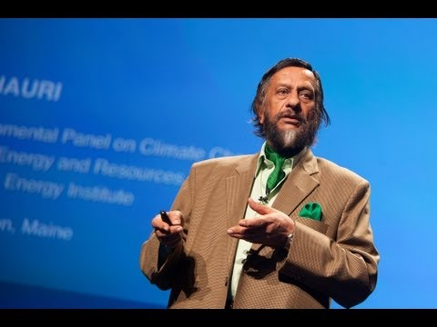 Rajendra Pachauri: Climate change