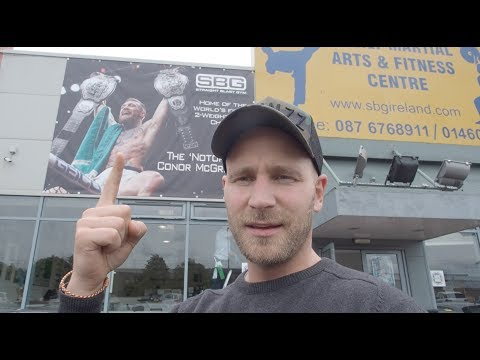 SBG Ireland - How does it looks like in Conor McGregor's Gym?