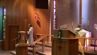 14th Sunday after Pentecost, Good Shepherd Lutheran Church, LC-MS, Two Rivers, WI, Rev William Kilps