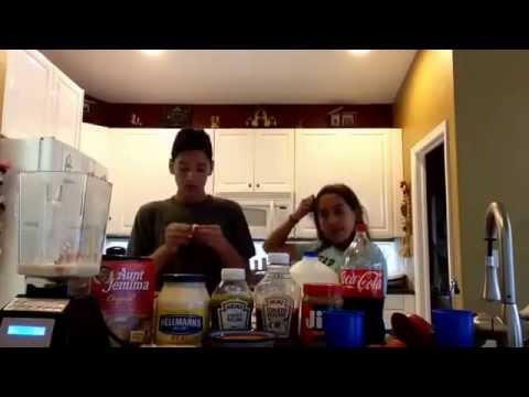 Milkshake challenge w/ Adrian soto