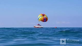 ЛАЗАРЕВСКОЕ СОЧИ ул Калараш пляж Лазурный традиционный утренний заплыв