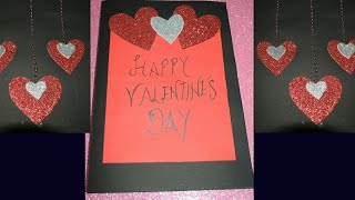 DIY Valentine's Special Greeting Card for Boyfriend/Girlfriend #HandMade #PaperCraft #Greeting #Love