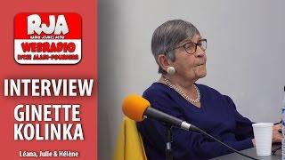Interview de Ginette Kolinka  Radio Jeunes Actu
