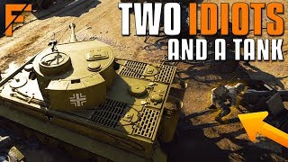 When 2 idiots have a tank in Battlefield 5 thumbnail