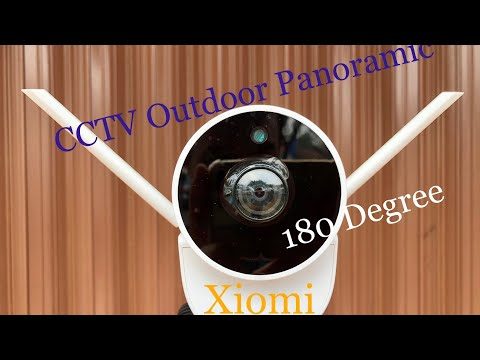 Xiaomi Xiaovv Outdoor Panoramic 180 Degree Nightvision IP Cameras/indonesia