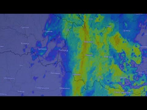 Синоптики попереджають про ускладнення погодних умов на території Закарпатської області