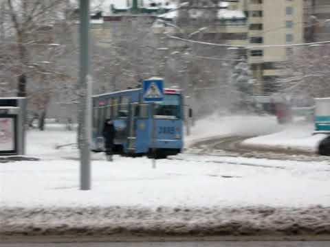 Novosibirsk tram