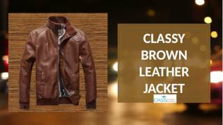 Types of leather jackets men