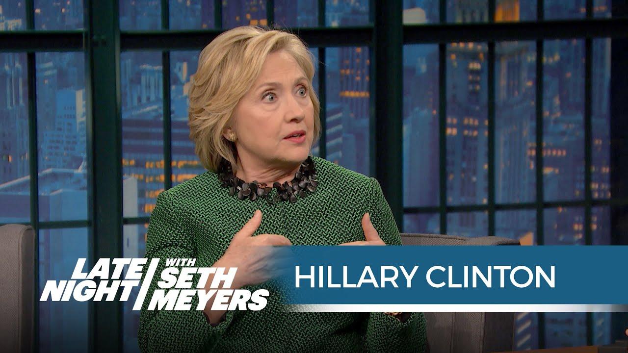 Hillary Clinton Tells The Story Behind Bill Clinton 39 S