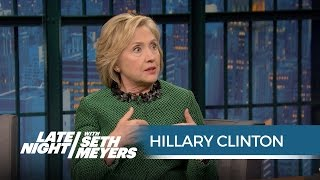 Hillary Clinton Tells the Story Behind Bill Clinton
