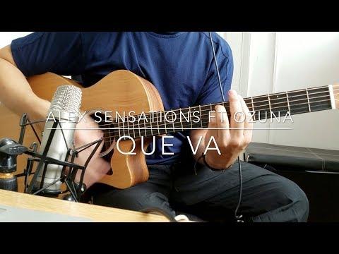 Alex Sensations Ft Ozuna - Que Va (Guitarra Cover, Acordes + Intro)