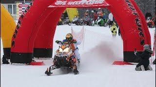 Дрэг-рейсинг на снегоходах. Открытие снегоходного сезона на горе Белой !