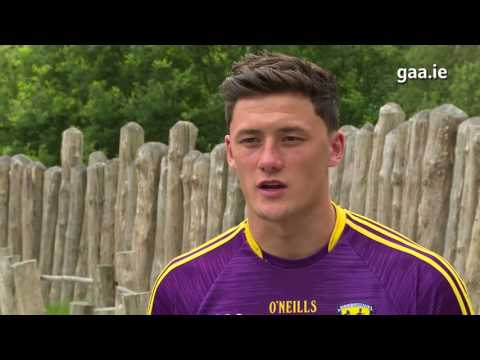 Wexford's Lee Chin at the All-Ireland Hurling Launch 2017