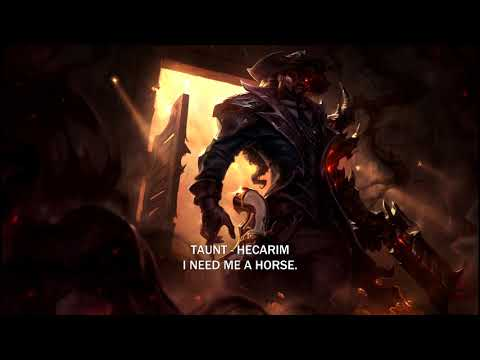 Voice - High Noon Lucian [SUBBED], Legendary Skin - English
