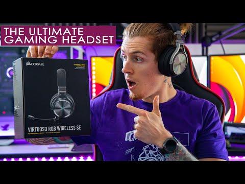 Corsair Virtuoso RGB Wireless SE - best gaming HEADSET ever?