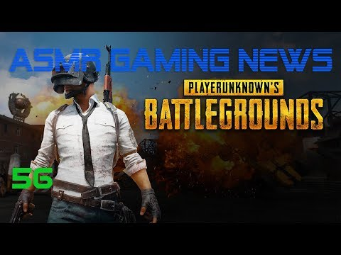ASMR Gaming News (56) PUBG, No More Heroes 3, Fifa 18, Nintendo, Miiverse, Sonic Forces + More!