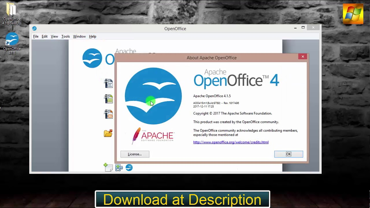 open office 4.1.5 en francais