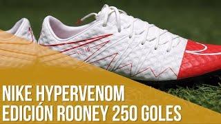 Nike Hypervenom Rooney 250 goles con Manchester United