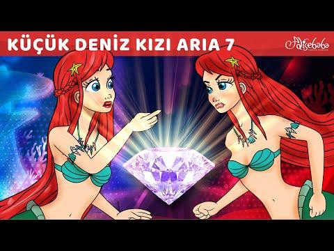 Adisebaba Çizgi Film Masallar - Küçük Deniz Kızı Aria 7 (YENİ) - Okyanus Kalbi - Little Mermaid