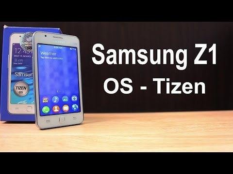 Samsung Z1 Tizen Unboxing & Quick Review