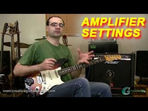 How to Adjust Settings on a Guitar Amplifier
