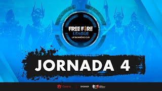 🔥 Free Fire League | LAS | Jornada 4 | Serie a 6 Partidas #FFLeague 🔥