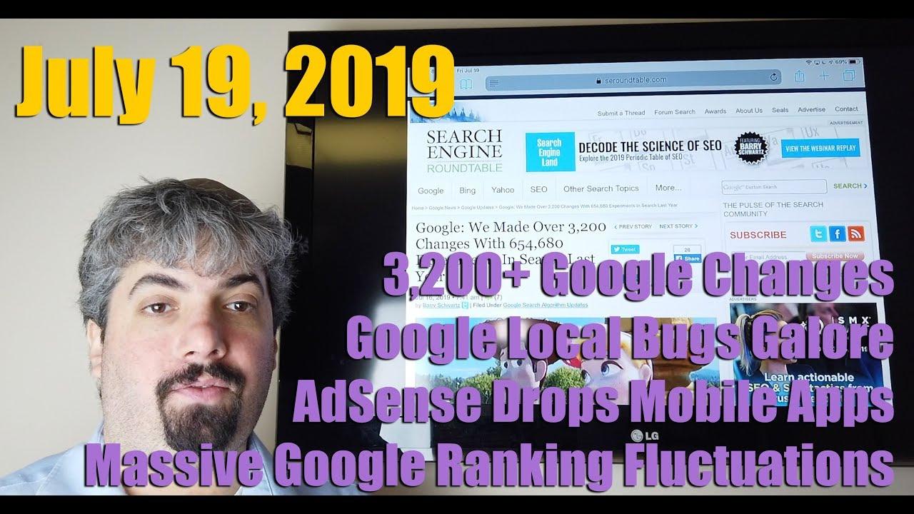 Google Makes Changes, Massive Algorithm Updates, Google Local Bus, AdSense  Apps & Much More
