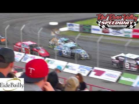 Red River Valley Speedway IMCA Sport Mod Heats (6/8/18)