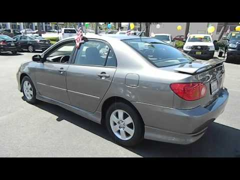 2004 toyota corolla s sedan 4d los angeles ca 421842. Black Bedroom Furniture Sets. Home Design Ideas