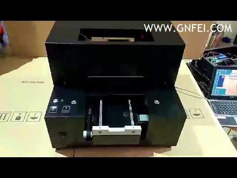 A4 Size 6 Color UV Printer Automatic