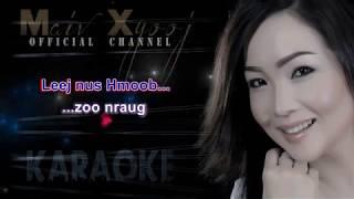 """Instrumental - """"Nyiam Koj Tiag Tsis Zoo Qhia"""" with Lyrics by Maiv Xyooj (New Karaoke Version)"""