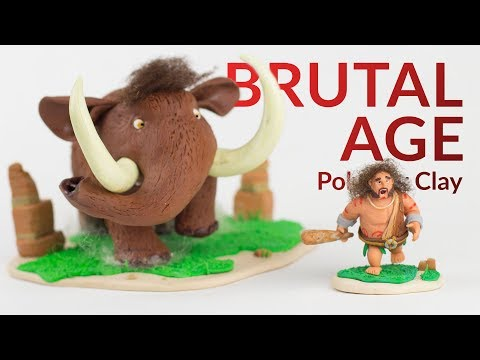 Mammoth (Brutal Age) – Polymer Clay Tutorial