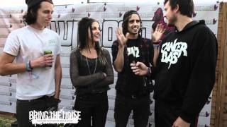 Bring The Noise UK - Japanese Voyeurs Interviewed at Download Festival 2011