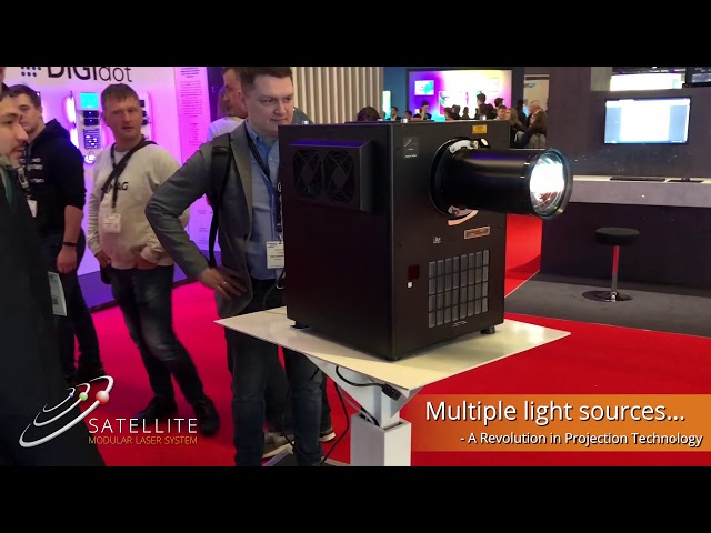 Satellite Modular Laser System - A Special Preview of a Revolution in Projection Technology