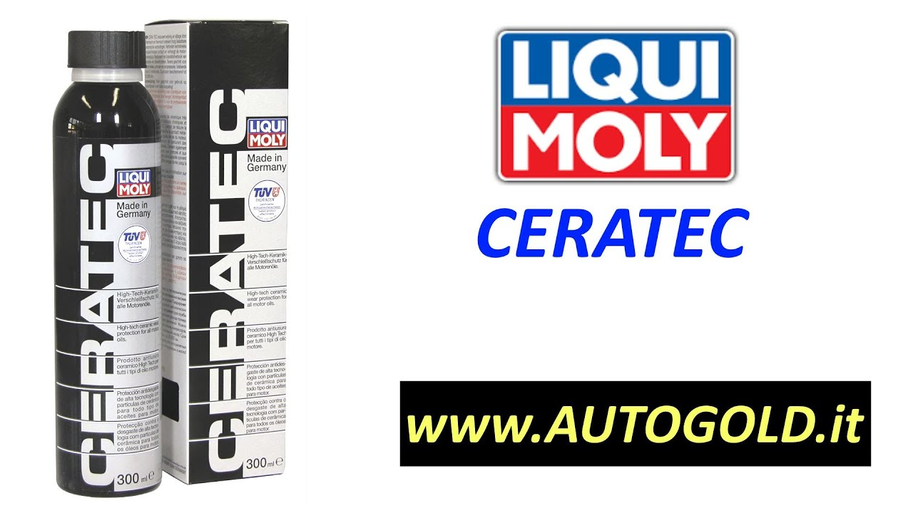 ceratec liqui moly additivo olio nano ceramico per. Black Bedroom Furniture Sets. Home Design Ideas
