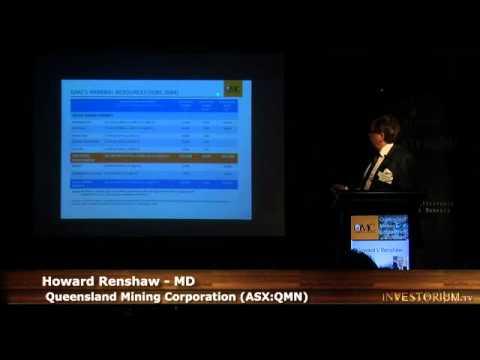 Howard Renshaw在Investorium.tv向悉尼资本市场发表演讲