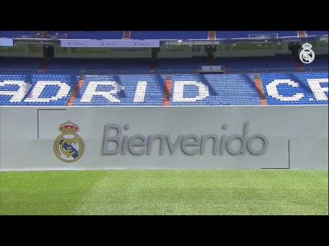 THIBAUT COURTOIS Real Madrid  PITCH Presentation at the BERNABEU | FULL STREAM thumbnail
