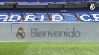 THIBAUT COURTOIS Real Madrid  PITCH Presentation at the BERNABEU | FULL STREAM