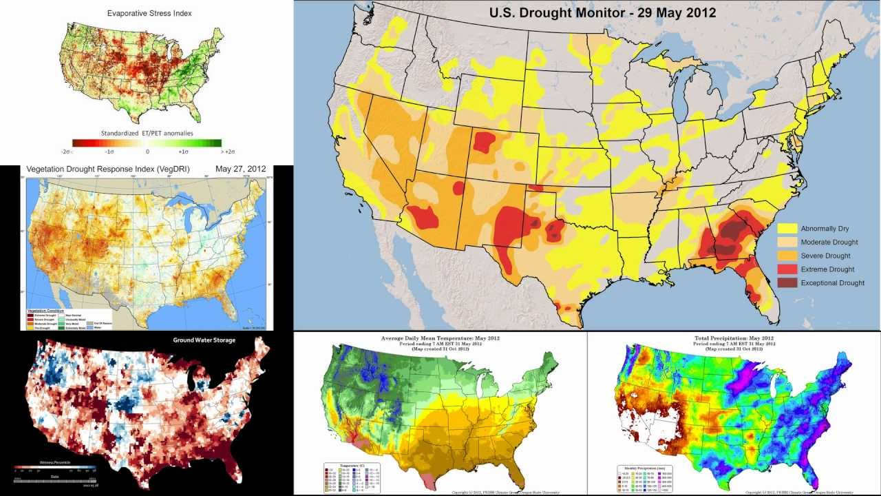 U S Drought Monitor Map And Drought Indicator Maps
