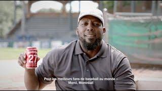Budweiser canettes des Légendes: Vlad Guerrero