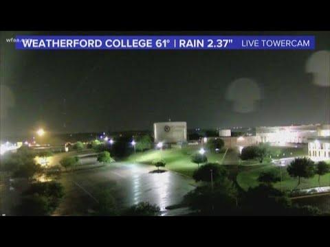 Timeline | Thunder, rain, high winds continue through Central Texas