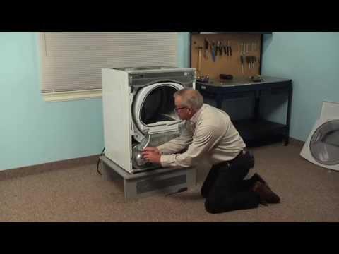 dryer repair replacing the heater element (whirlpool part
