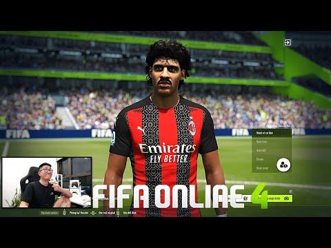 FIFA ONLINE 4: Test CDM Siêu Tuyển F. Rijkaard ICON & Đi Chợ Xây Team MAX BING Nhất Tầm Giá By ILF
