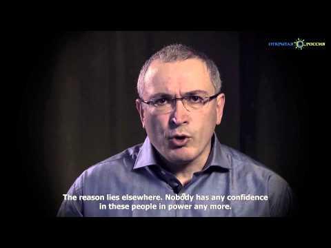 A Video Message from Mikhail Khodorkovsky 20 December 2014