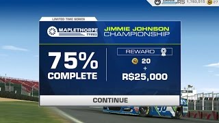 rr3 limited time series jimmie johnson championship tier 17 3 nascar