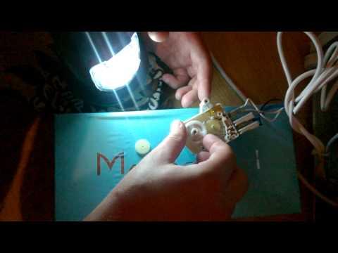 Осмотр таймера оттайки (артикул 2262284033) для холодильника Electrolux