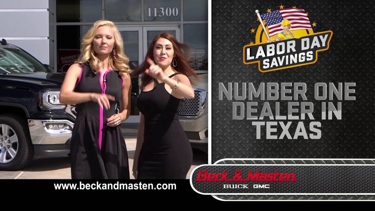 Beck And Masten Gmc >> Labor Day Savings - Sierra and Yukon - Beck & Masten - YouTube