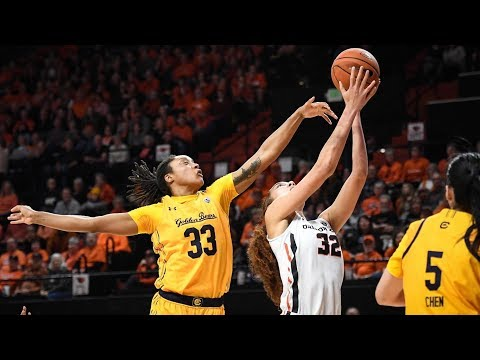 Oregon State Beavers - Beavers bounce Bears 81-44 and improve to 16-1!!